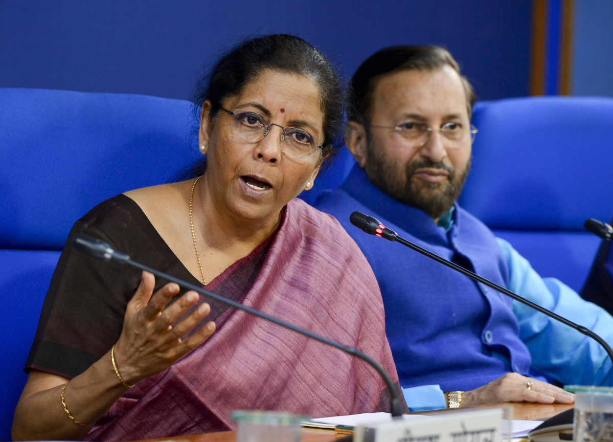 Nirmala Sitharaman Speech Updates: Government Defers Tax Filing, Company Law Compliance Deadlines