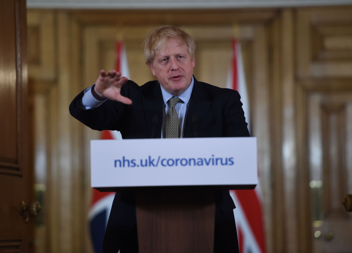 Johnson Closes U.K. Schools and Threatens to Lock Down London