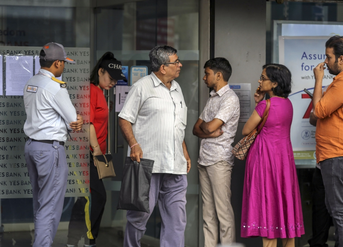 Depositors Staying Put Is Key to India's Biggest Bank Rescue