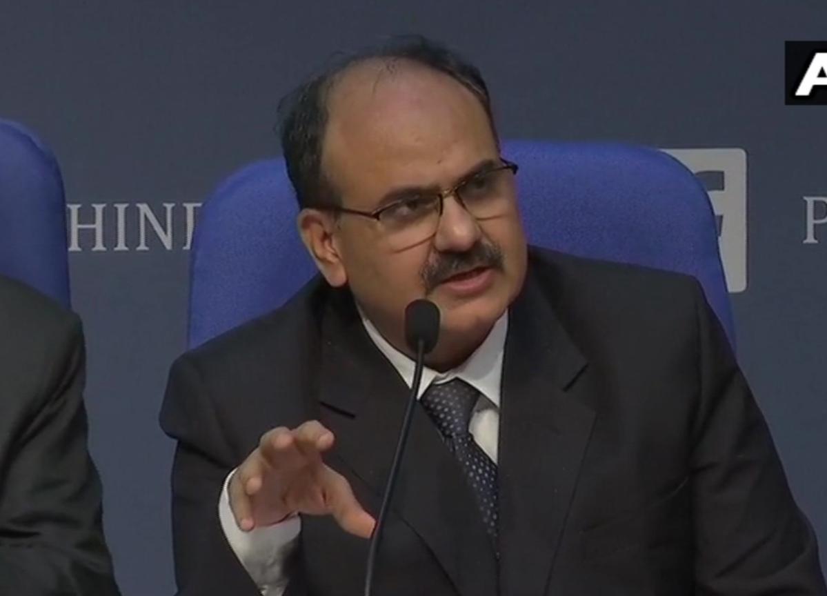 Revenue Secretary ABP Pandey Designated As Finance Secretary