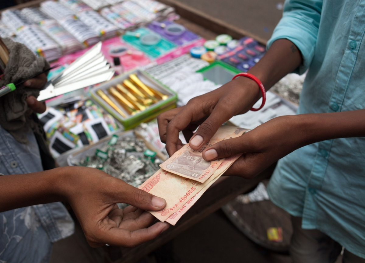 Virus Fears Seen Sending India Currency to Lowest on Record