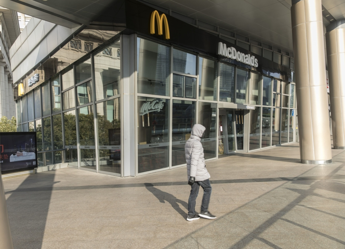 McDonald's to Pay Corporate Workers for Two Weeks in Quarantine