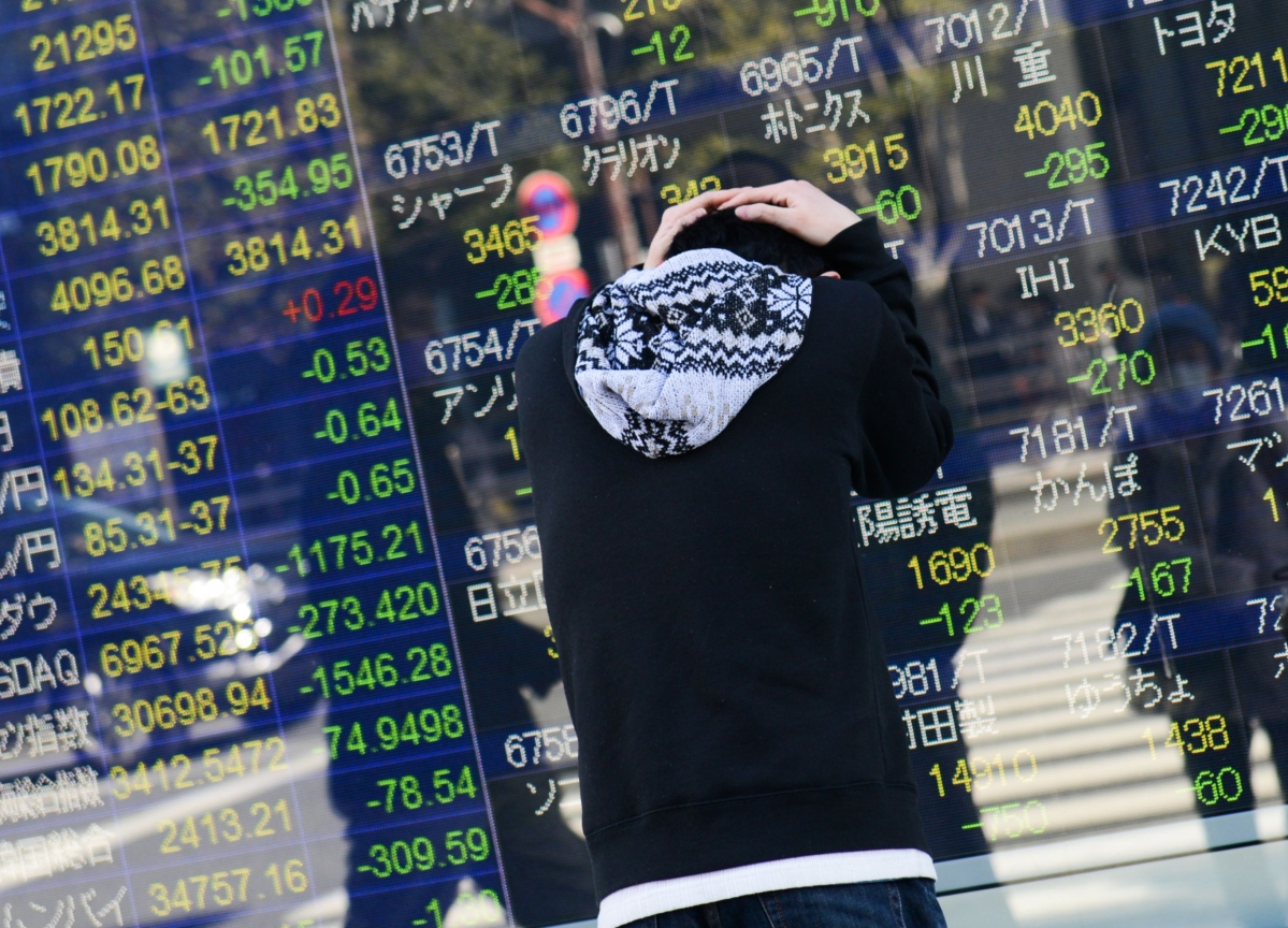 When Pondering How Much Worse, Asia Stock Traders Think 2008