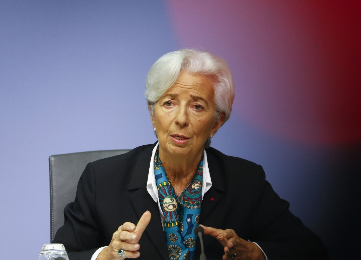 Lagarde Still the Exception in Male-Dominated Central Banks