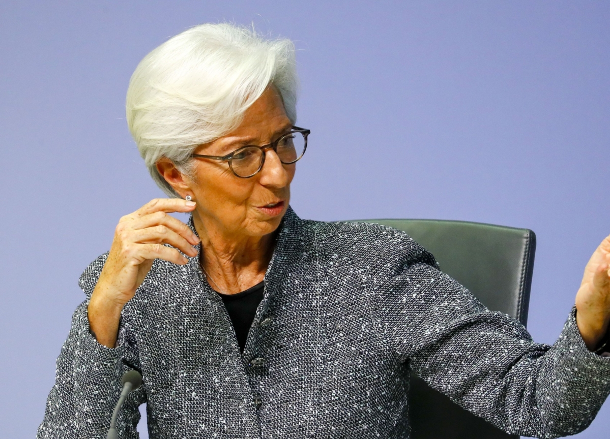 Christine Lagarde Does Whatever It Doesn't Take