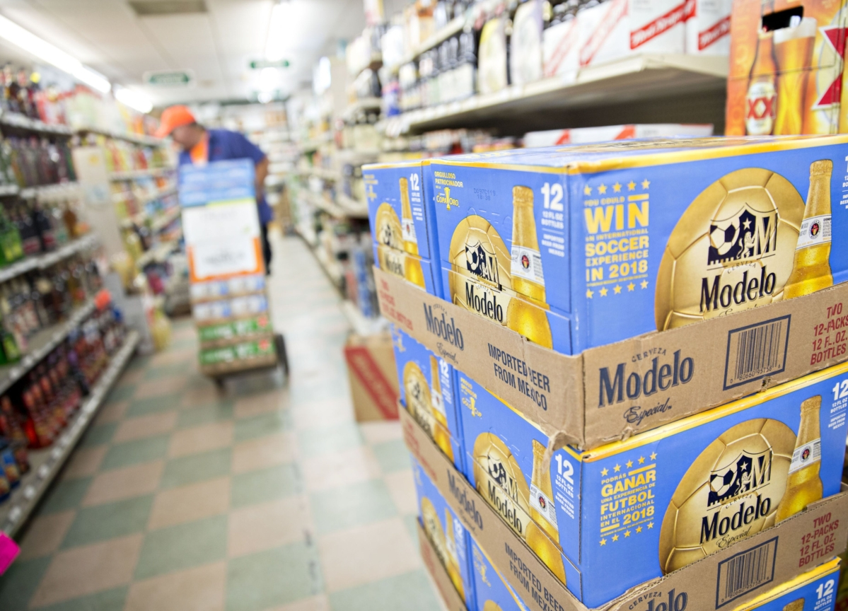 Americans Are Stocking Up on 'Comfort Booze'