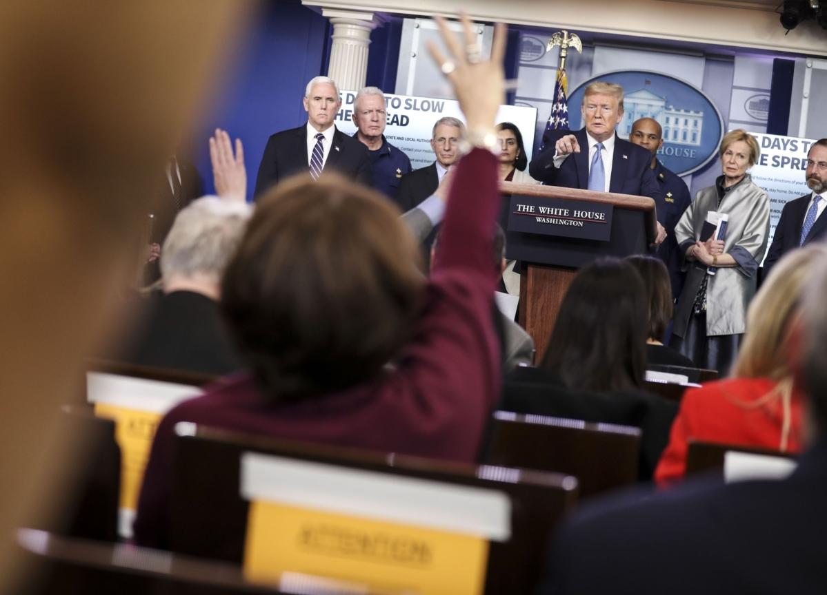 Trump Shifts Tone on Virus, Warning Americans: 'It's Bad'