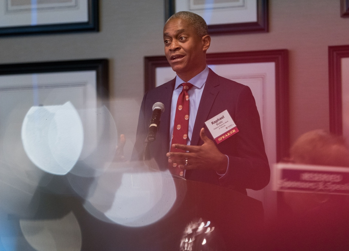 Fed's Bostic Says Everything on the Table for Crisis Tools