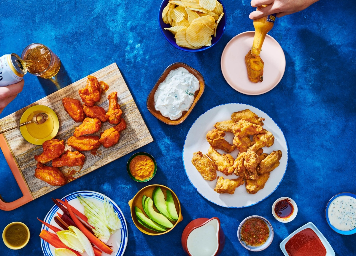 Spice Up Your Life With a Hot Ones-Inspired Chicken Wings Party