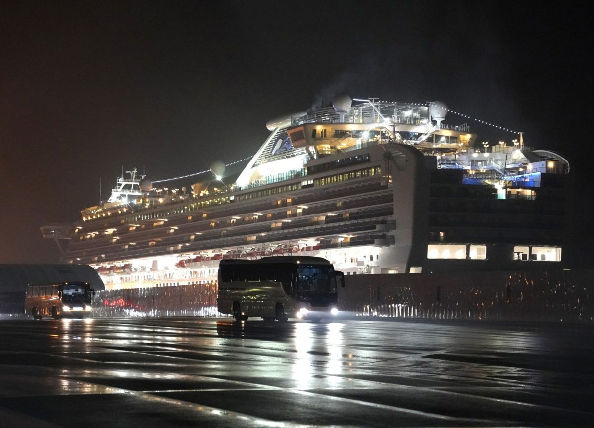 Carnival's Princess Sued by Passengers Over Virus Cruise