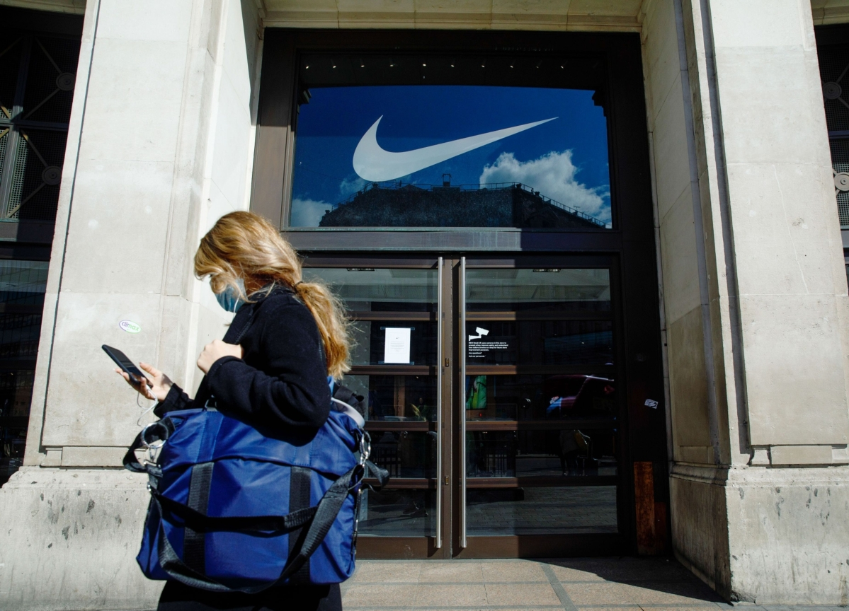 Nike Leaps 11% After Results Suggest It's Weathering Virus Era
