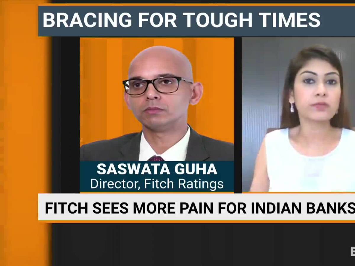 Fitch Sees More Pain In Store For Indian Banks