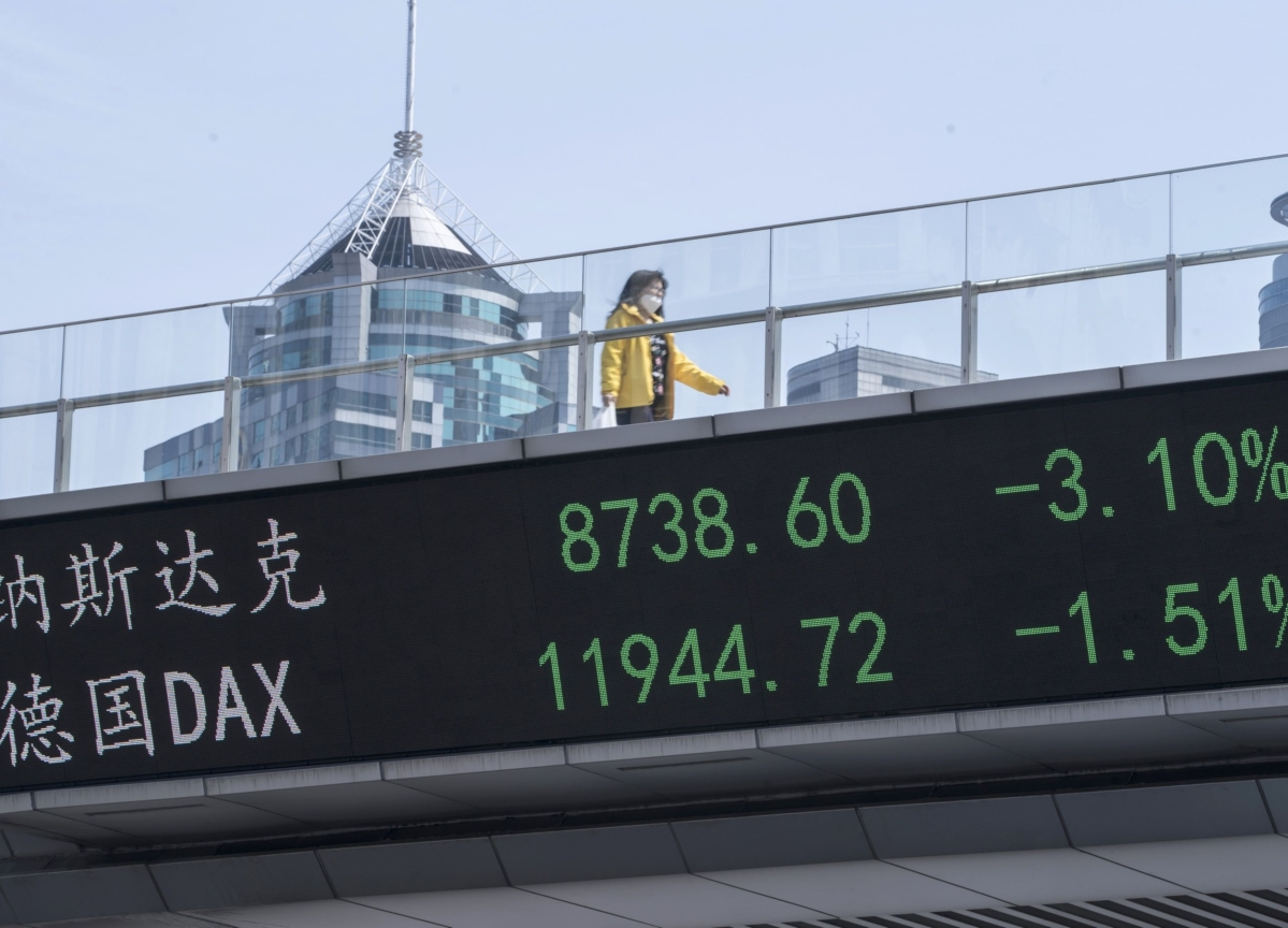 Investors May Be Overlooking a Second Blow to China's Economy