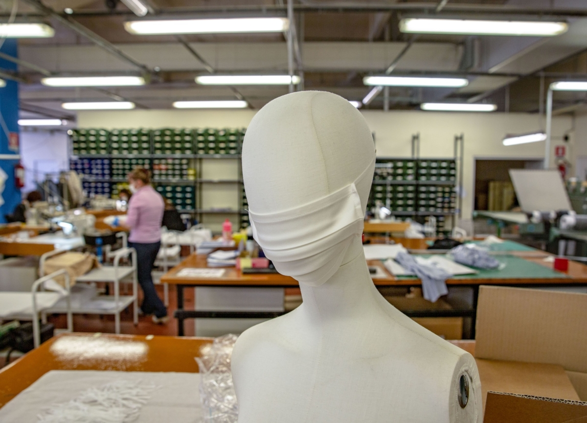 Designer Face Masks Are Going for $200 a Pop Online
