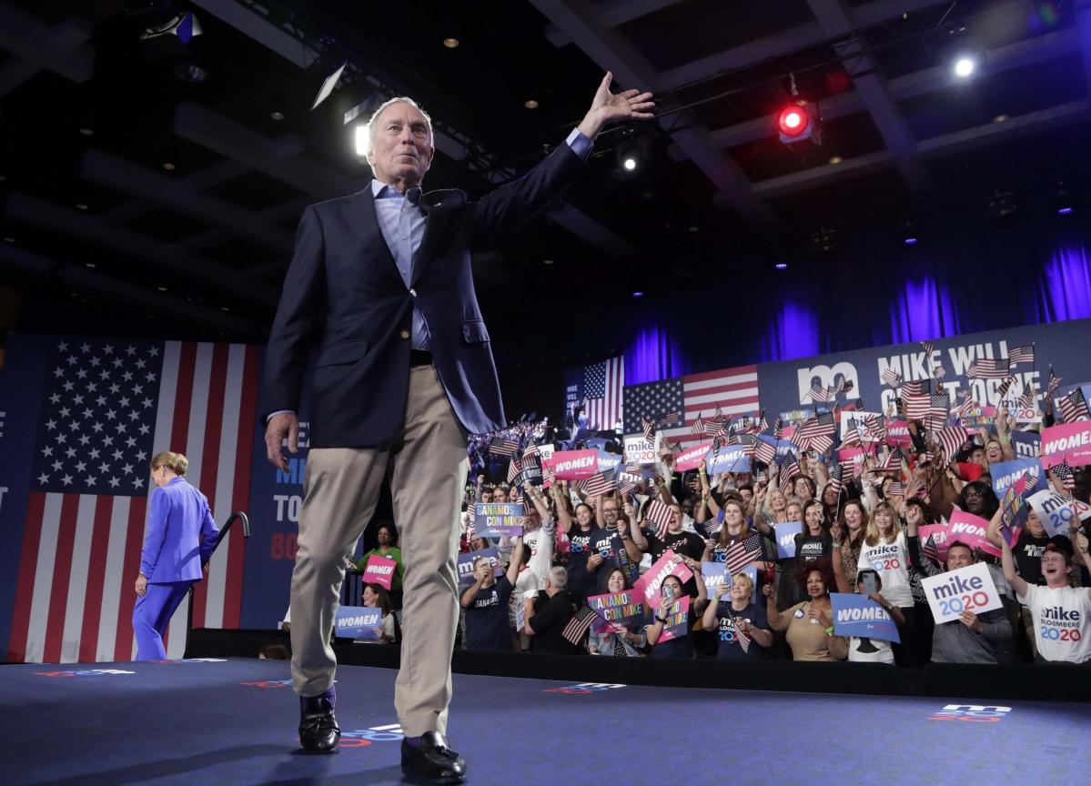 Michael Bloomberg Ends Presidential Bid, Endorses Joe Biden