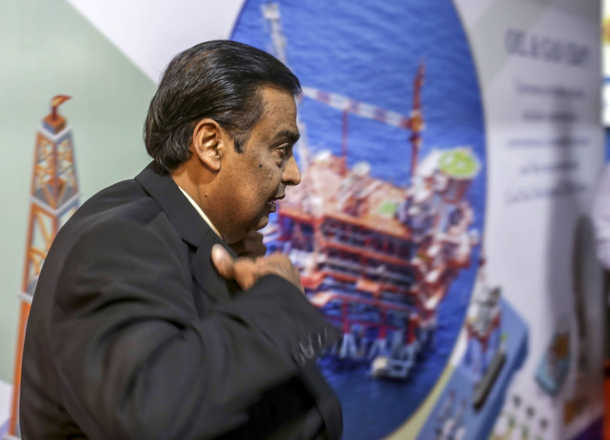 Ambani Loses Asia Wealth Crown to Ma in $5.8 Billion Rout