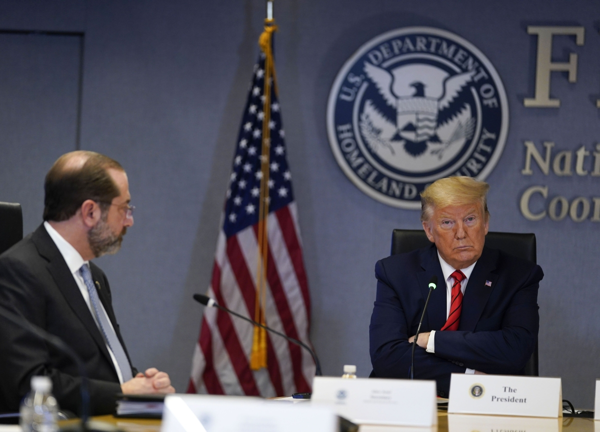 Trump Told Governors to Buy Own Virus Supplies, Then Outbid Them
