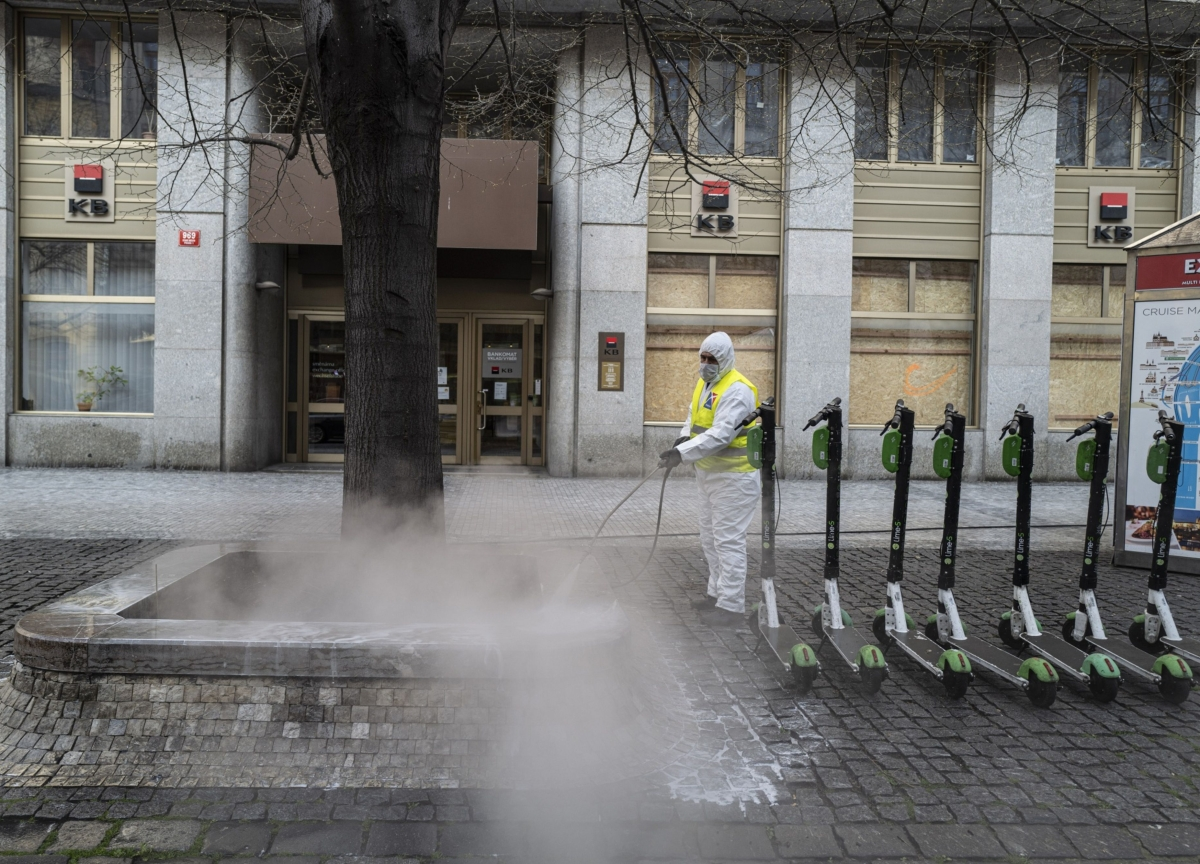 China Showers Europe With Virus Aid While Sparring With Trump