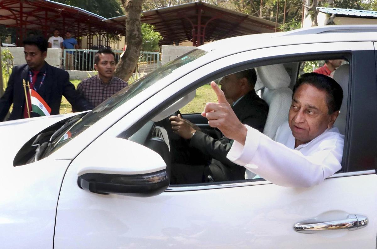 Madhya Pradesh Chief Minister Kamal Nath. (Photo: PTI)