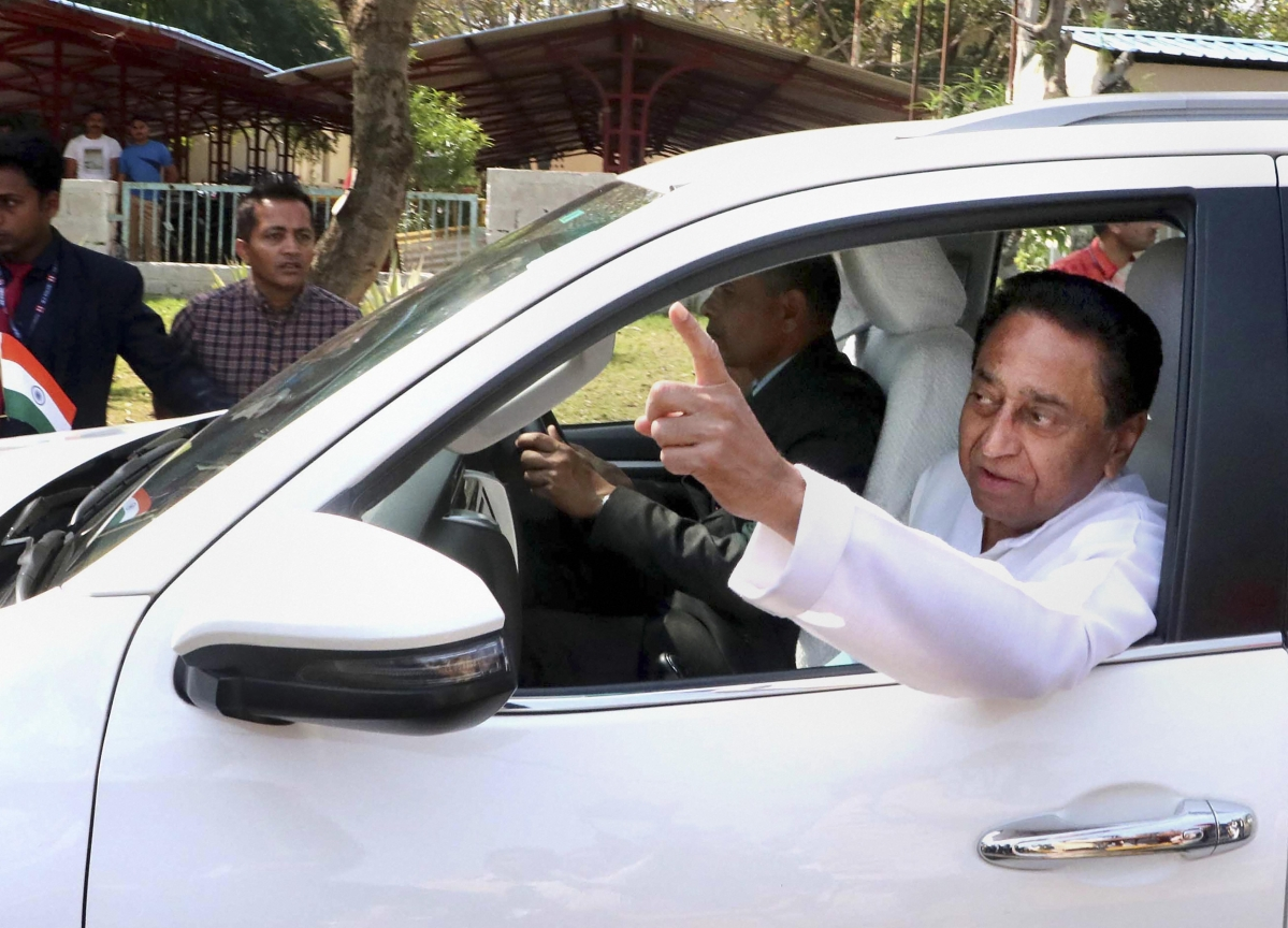 20 Madhya Pradesh Ministers Resign As Kamal Nath Tries To Save Government