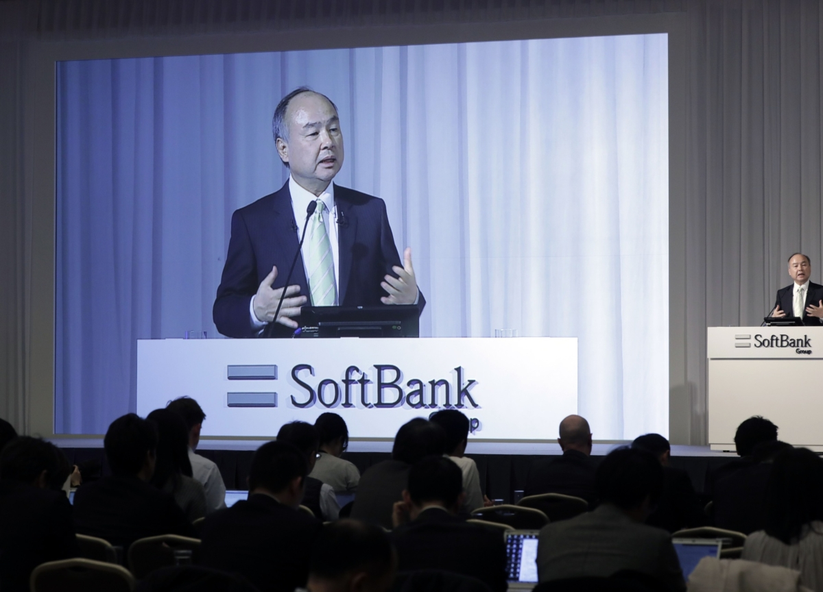 SoftBank CEO Tells Wall Street He's Eager to Keep Investing