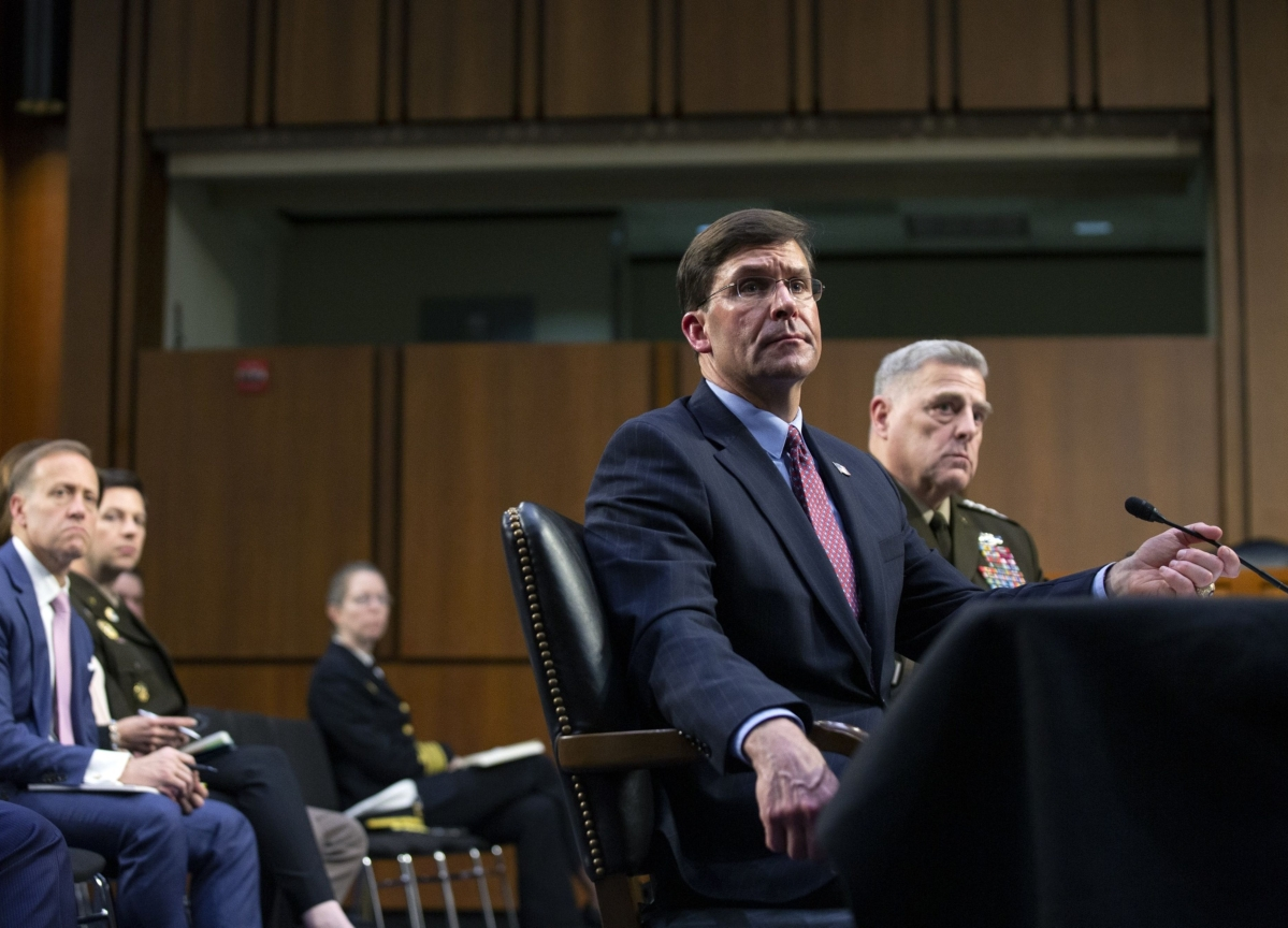 Afghan Peace Deal Results Mixed So Far, Defense Chief Esper Says