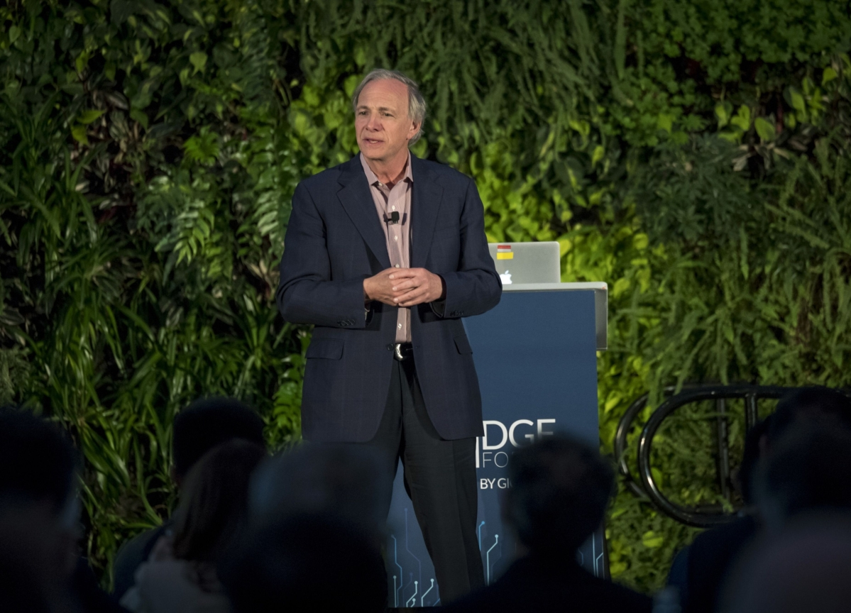 Dalio's Macro Fund Plunged About 20% This Year as Market Tanked