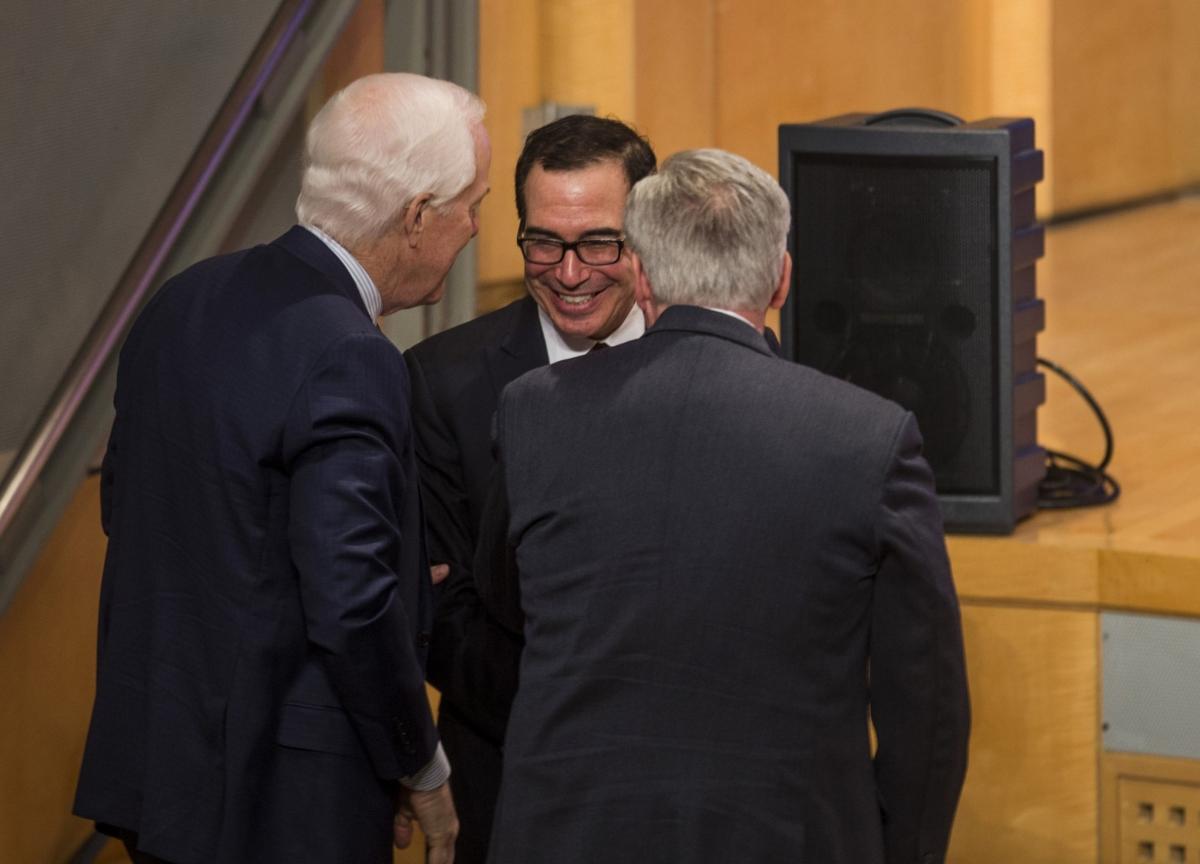 Mnuchin Discusses $850 Billion Stimulus and Checks to Americans