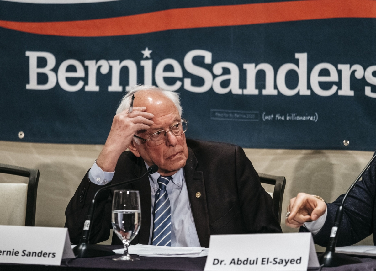 Bernie Sanders Under Pressure to Drop Out After Disappointing Finishes