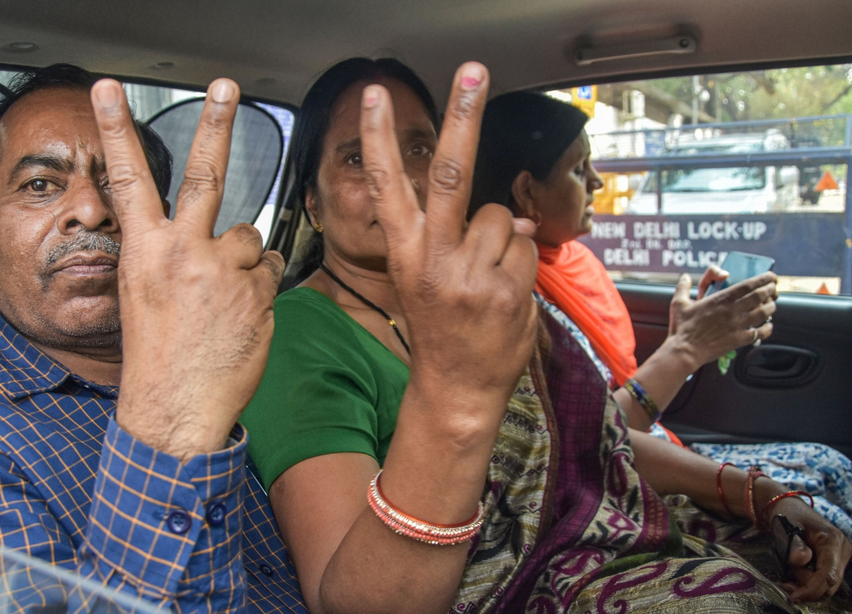 Four Nirbhaya Convicts Executed In Tihar Jail