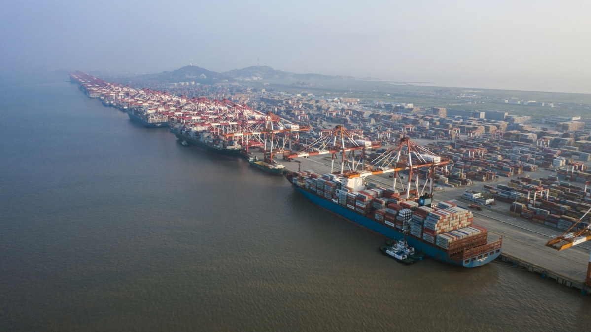 Chinese Port Restricts Ships From Virus-Hit Nations for 14 Days