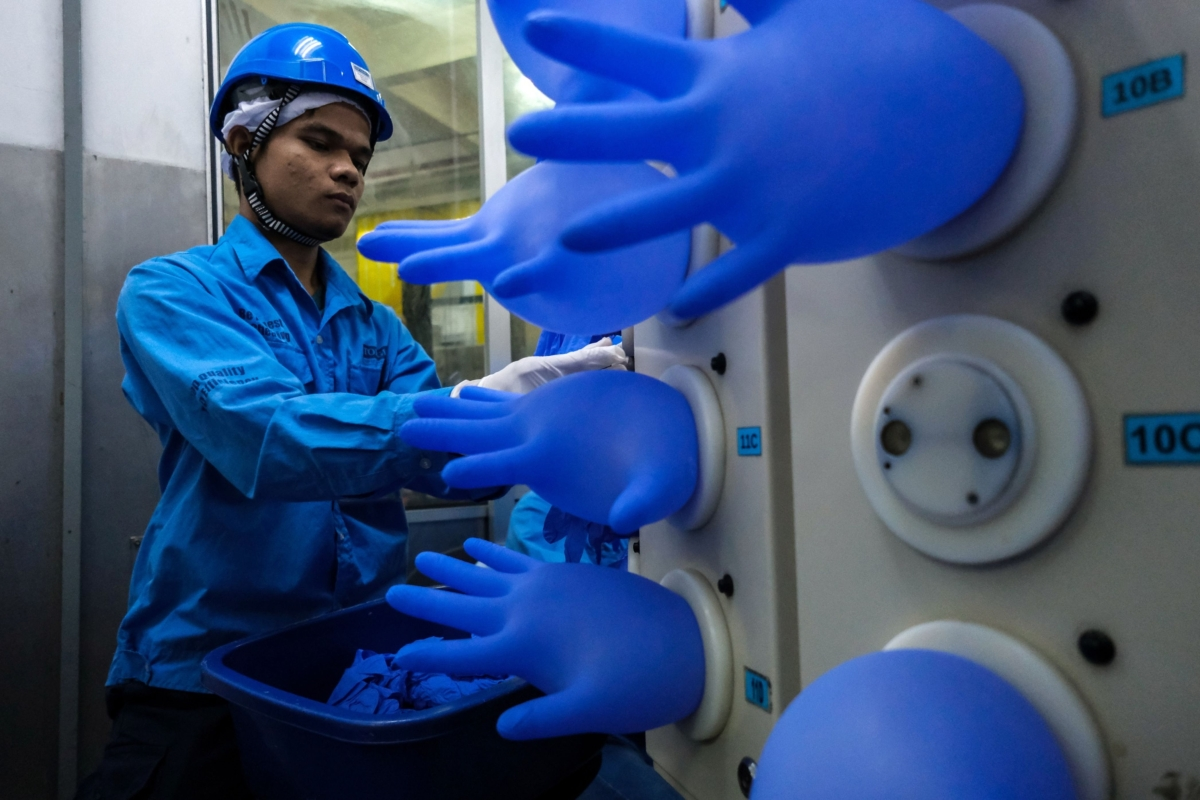 Now The World's Hospitals Are Running Out of Vital Rubber Gloves