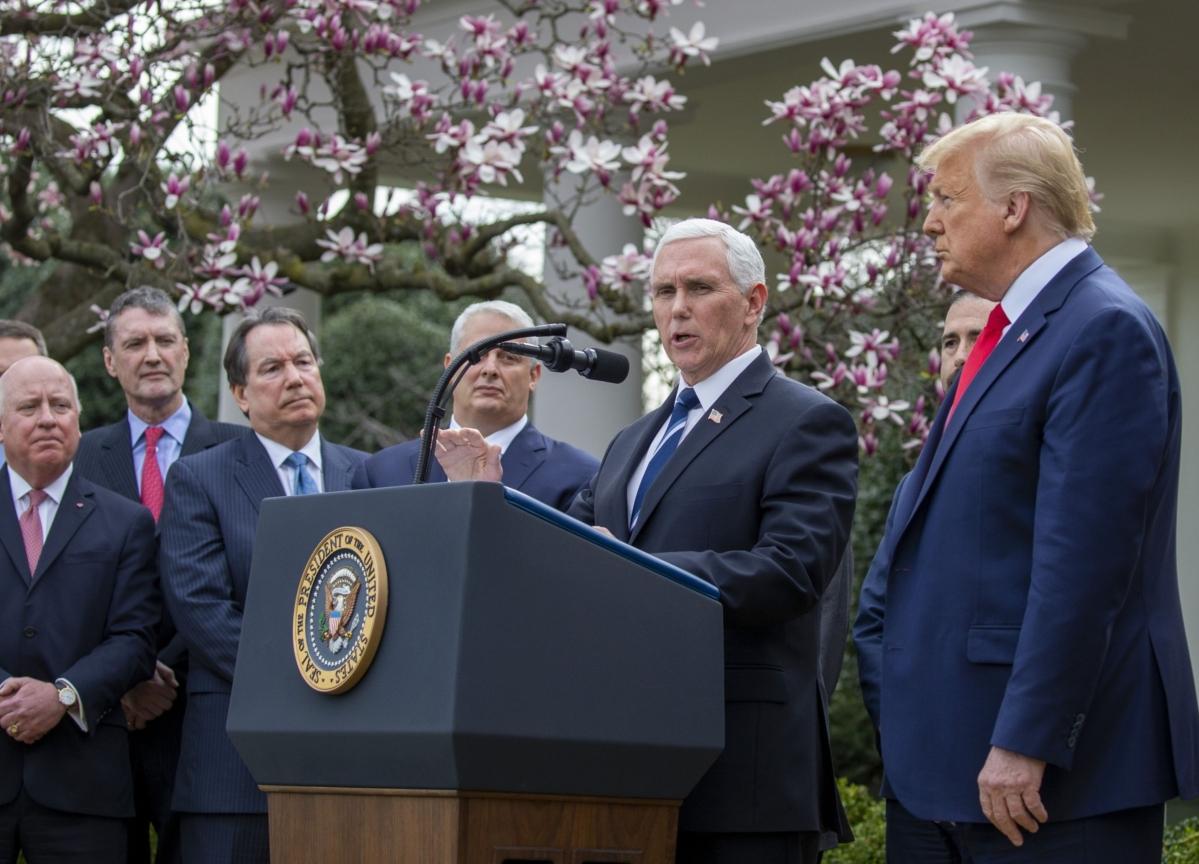 House Passes Trump-Backed Coronavirus Plan With Free Testing