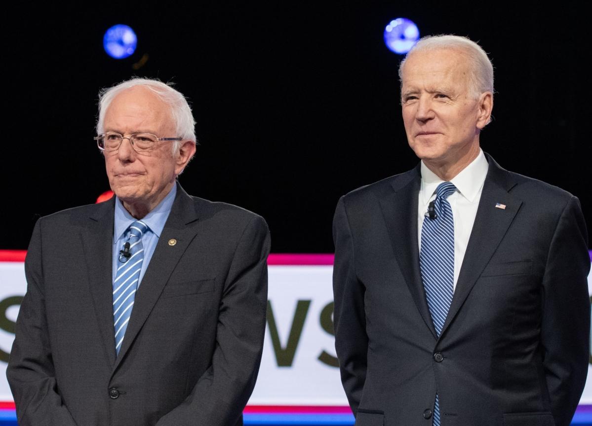Biden, Sanders Aren't That Old (Relatively Speaking)