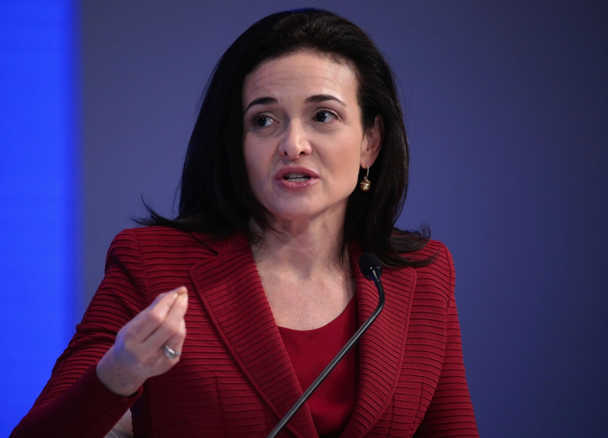 Facebook's Sandberg Says Even Politicians Can't Post Virus Lies