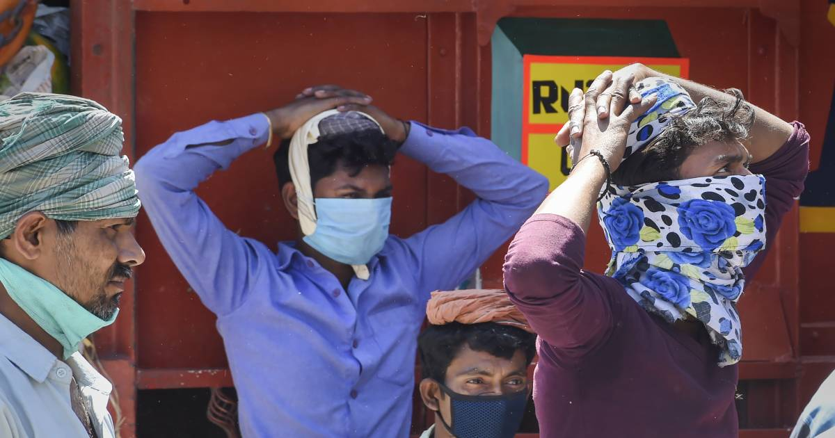 $4 a Day Indian Worker Worries: If Virus Won't Kill Me, Hunger Will