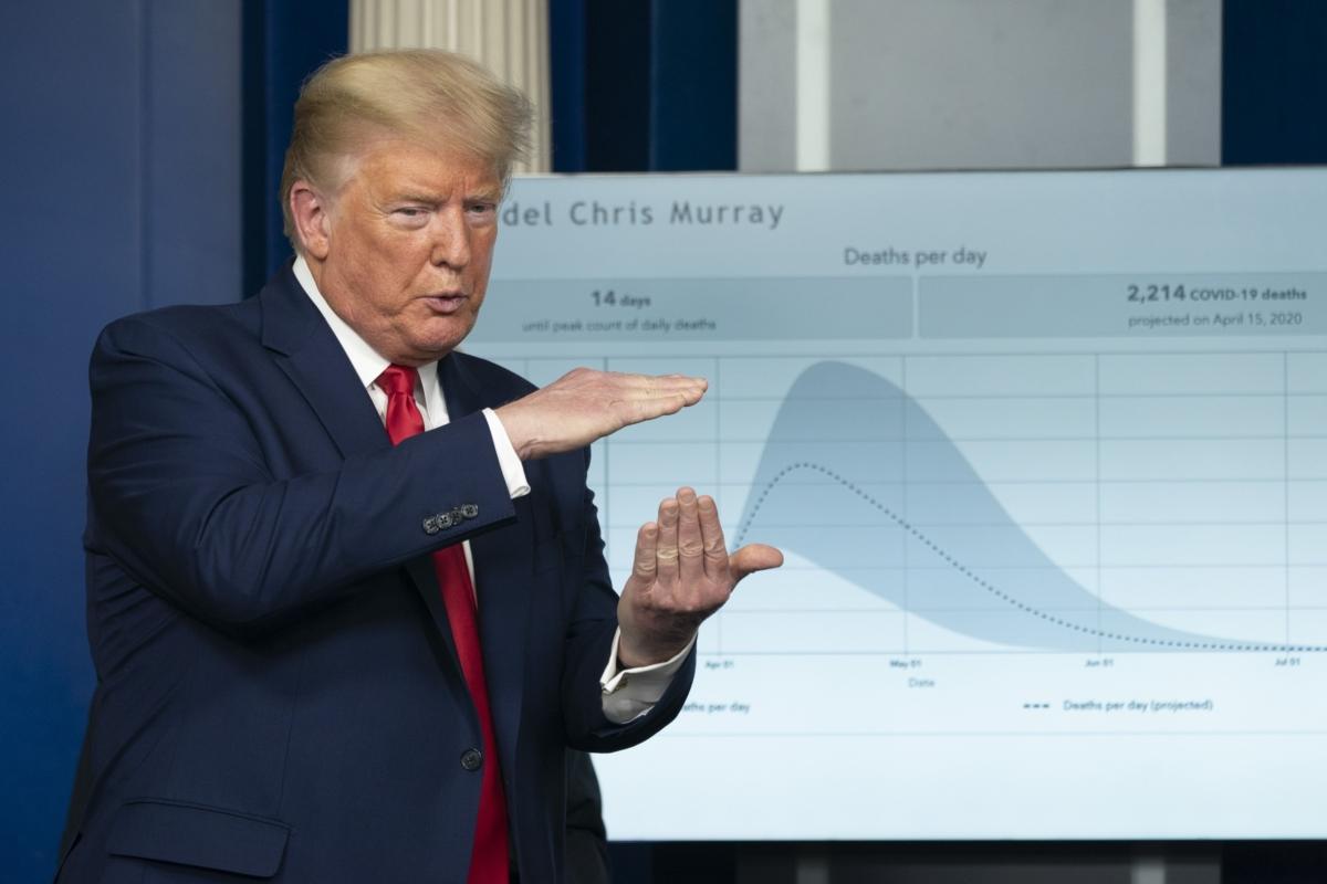 Trump Warns Of Pain Ahead; Aides Air Estimate Of 240,000 Deaths