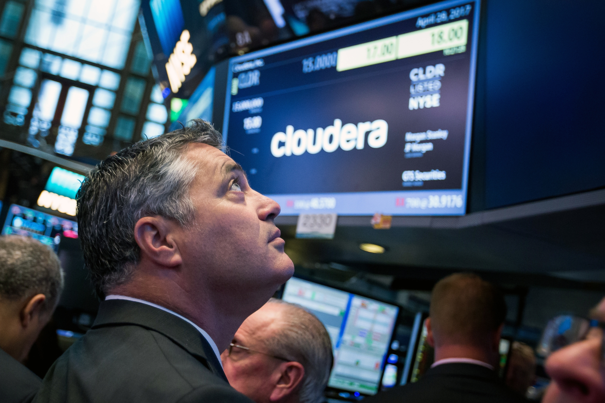 Cloudera stock options