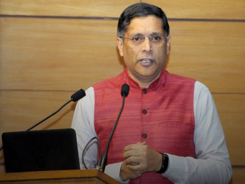 Watch Live: Arvind Subramanian On Investment Slowdown, Banking And RBI's Reserves