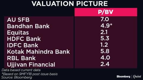 Bandhan bank ipo story