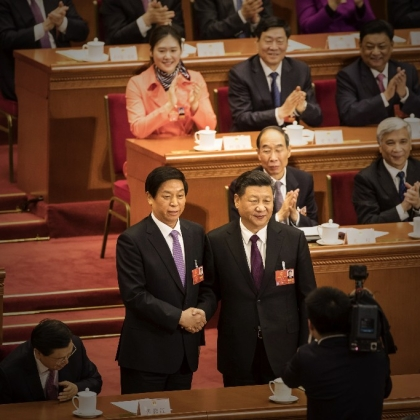 China's Xi Caps Power Push Securing New Term, Key Ally As No. 2