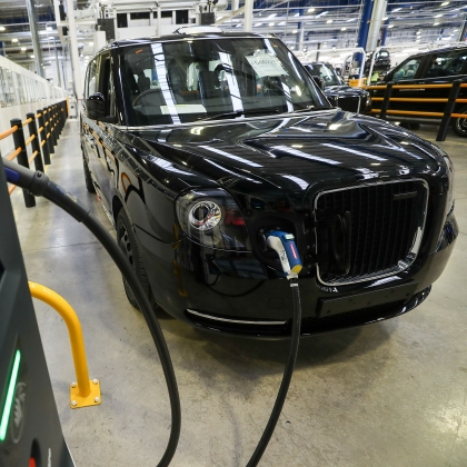 Electric Black Cabs Are Taking Over London