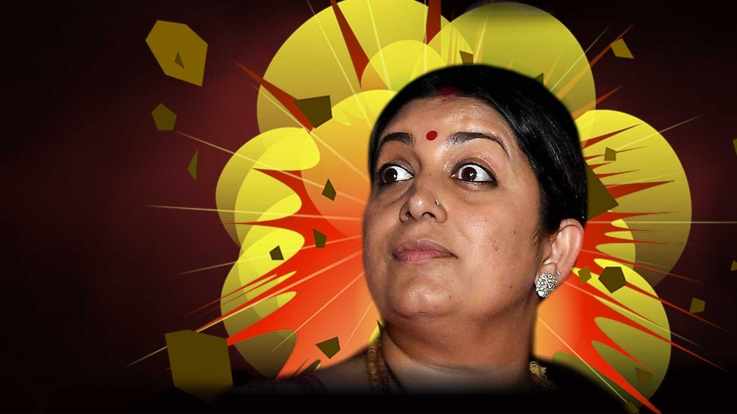 All became Smrti irani nude photo think, what