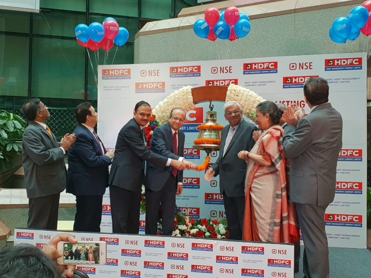 HDFC AMC Listing: HDFC AMC Makes Sixth-Best Market Debut In
