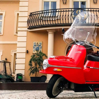 The Vespa That Communism Built, Revived As An Electric Scooter