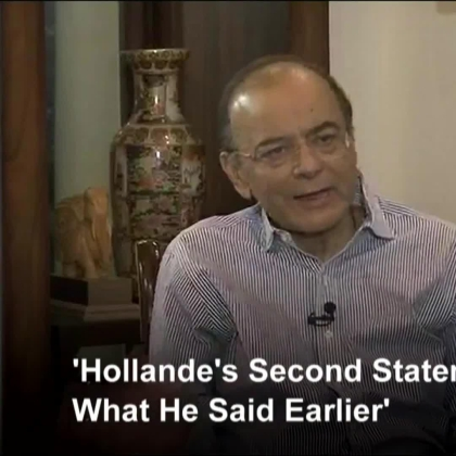 Jaitley On Rafale Deal: Hollande Contradicts Himself; Dassault Chose Reliance On Its Own