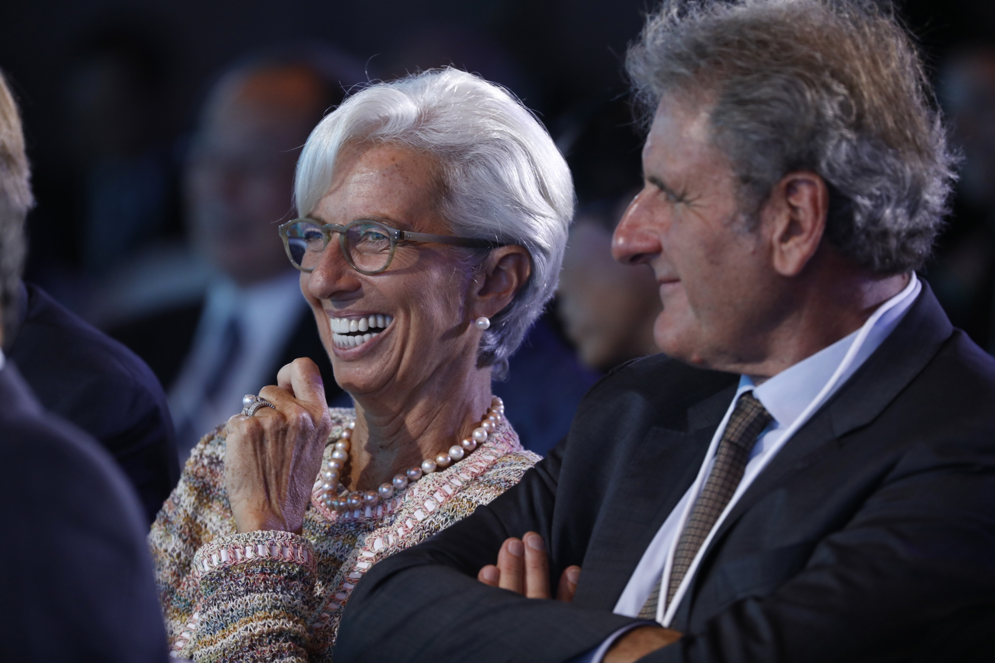 IMF: Christine Lagarde on What Makes Her Laugh