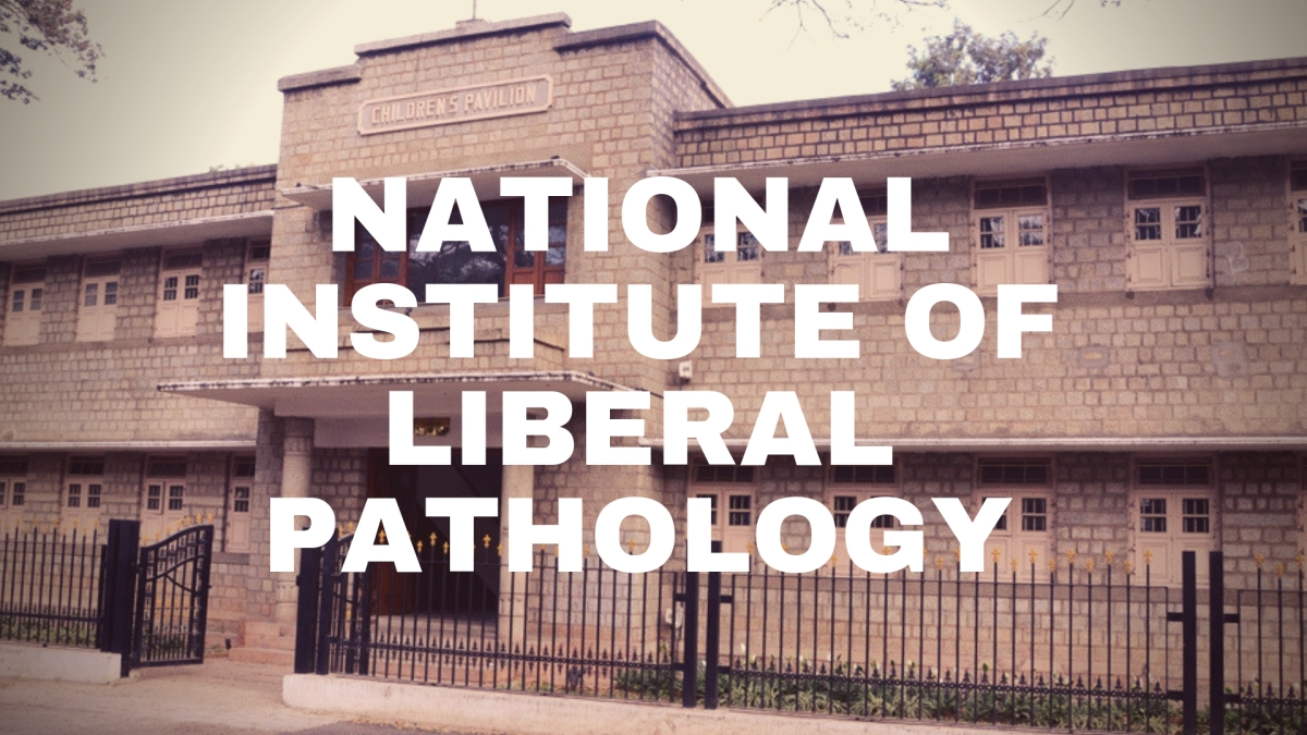 It is Time to Establish a National Institute of Liberal Pathology