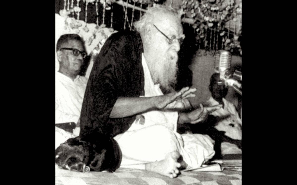 An Encounter with a 55 BCE Lemurian alias Dravidian alias Periyarist