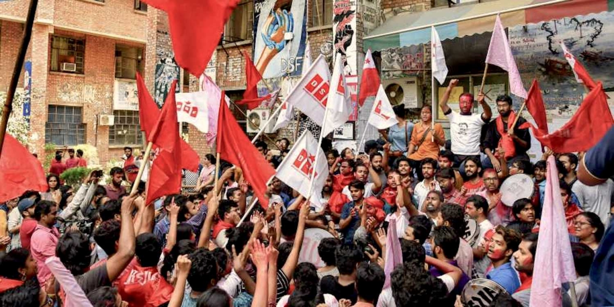 The Face of a Communist Civil War Inside JNU: Nothing Revolutionary About the AISA